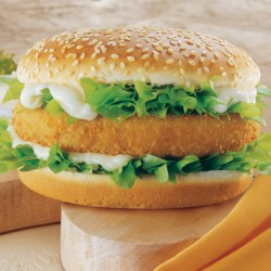 Breaded Chicken Burger